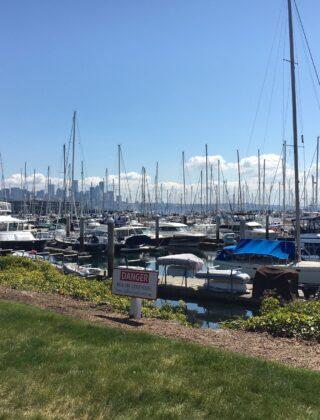 Seating and Views at Smith Cove Elliot Bay Marina
