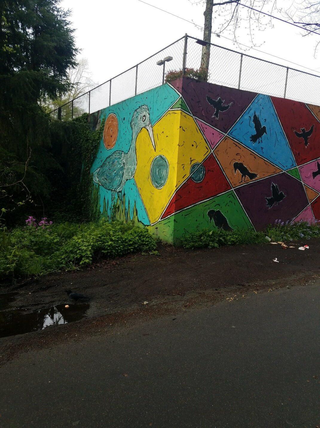 Thorton Creek mural