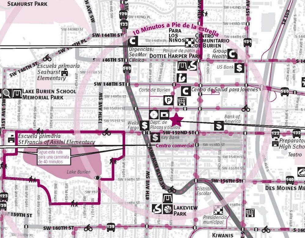 Burien-Neighborhood Walking Maps