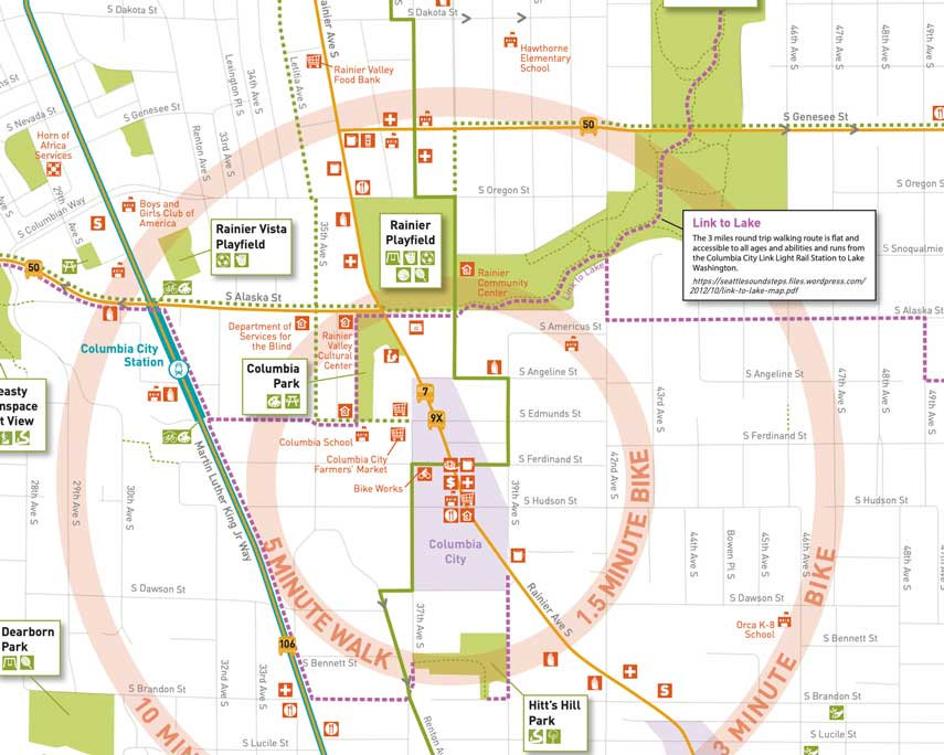 Rainier Valley South map preview