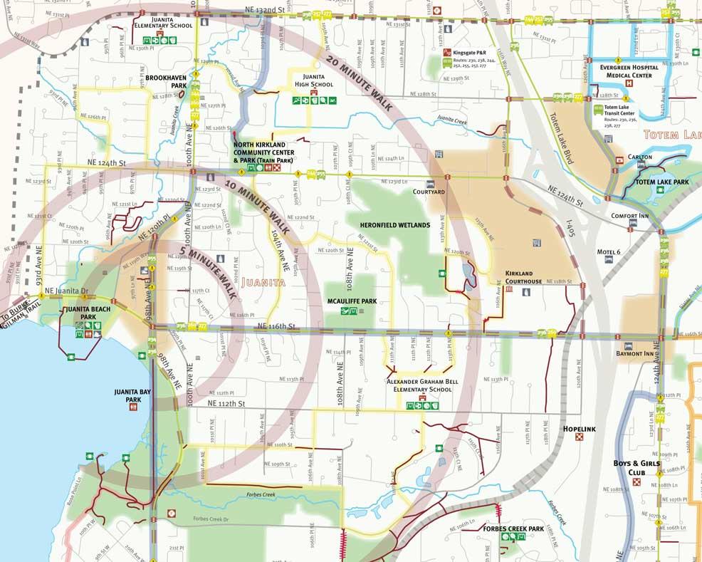 Kirkland map preview